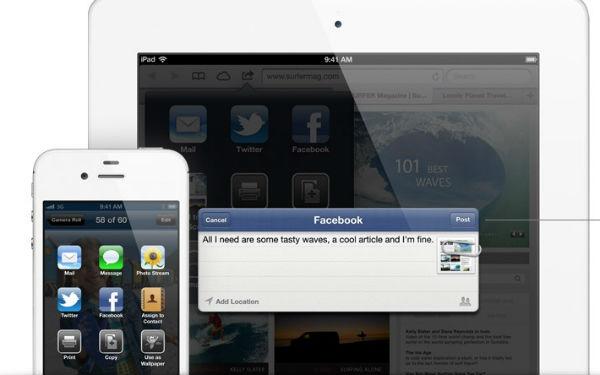 Apple iOS Facebook Integration - 600