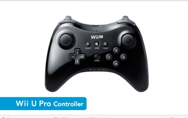 Nintendo ovladač
