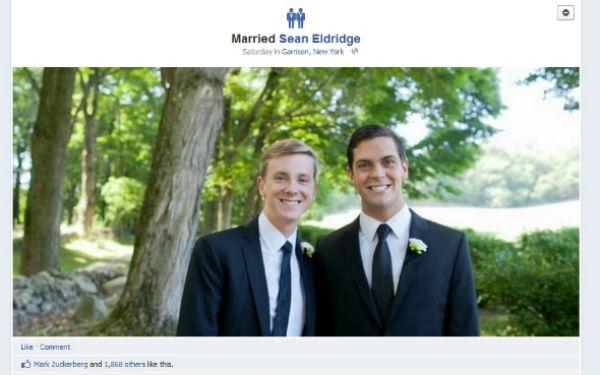 Facebook Gay Marriage