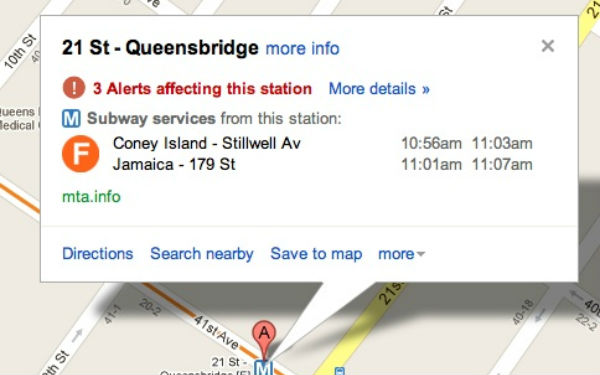 Google Maps Adds Service Alerts for New York City Subways ...