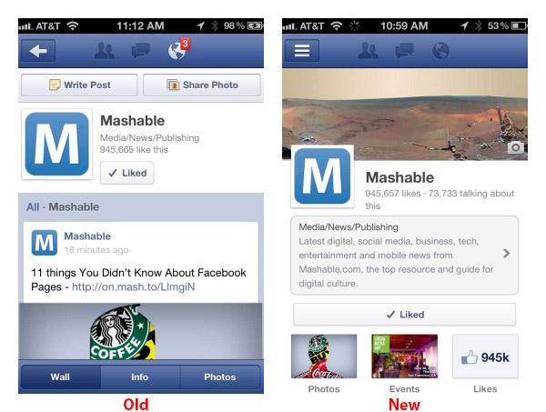 Facebook Timeline Tersedia Untuk Facebook Page (mobile version)