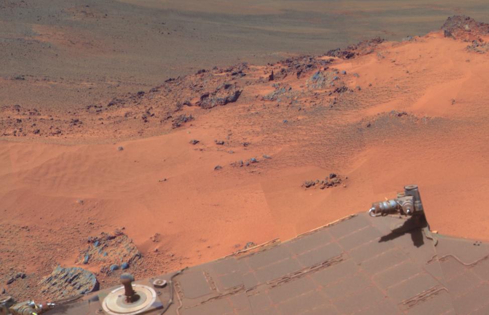 HD photos of Mars