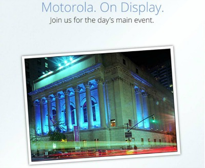 Motorola and Verizon event