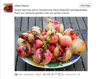 Рекламные посты в Facebook