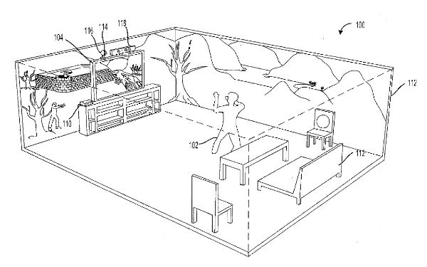 Microsoft-Gaming-Projection-Patent