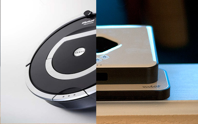 iRobot and Evolution Robotics Combine