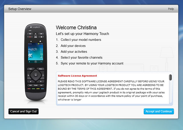 Logitech Harmony Touch Is the Ultimate Remote Control