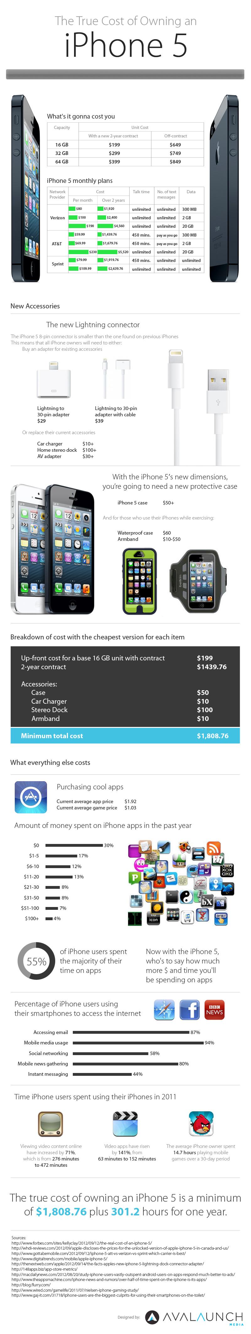 iPhone 5 Infographic