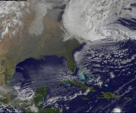 Hurricane Sandy on October 29, 2012