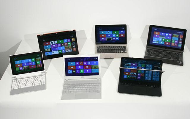 Windows 8 machines
