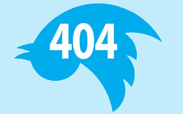 404 Twitter