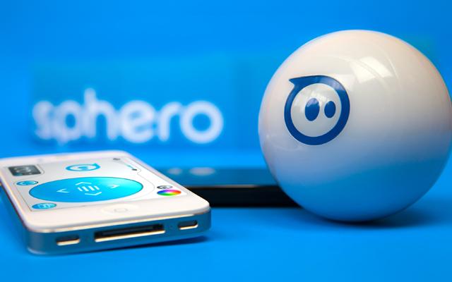 Sphero, the robotic ball.