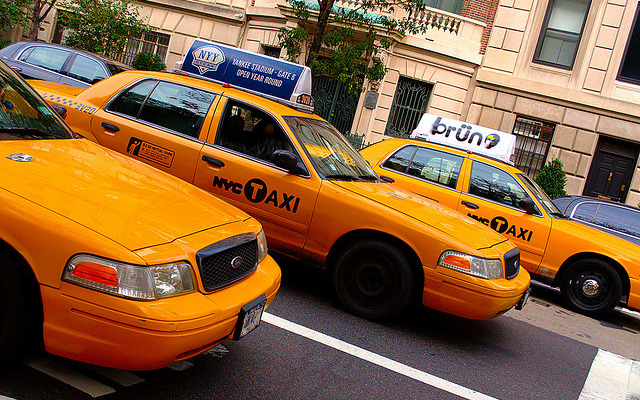 Taxi-post