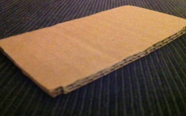 Cardboard iPhone 5