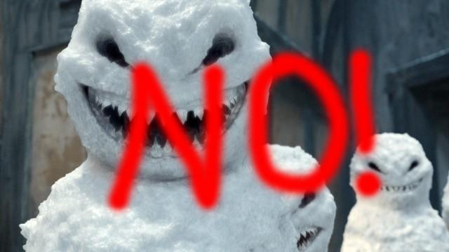 Doctor Who Snowmen No