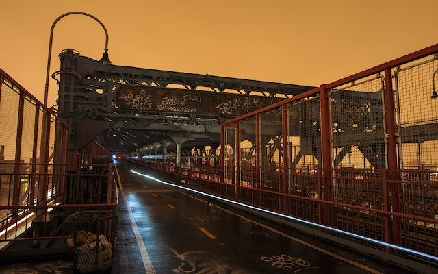 williamsburg bridge sandy