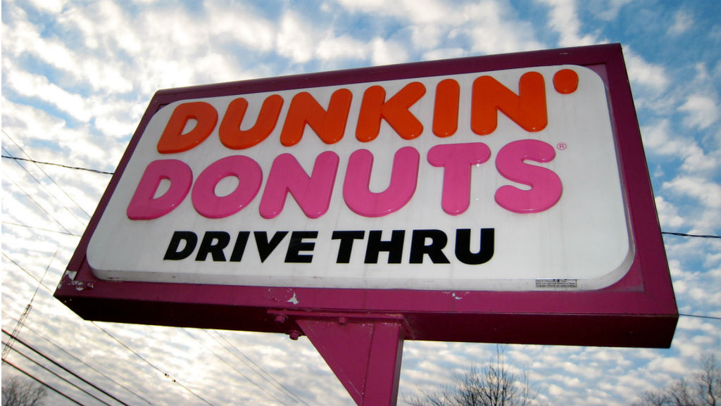 Dunkin    Donuts Facebook Contest Offers Chance to Be on Times Square    Dunkin Donuts Billboard