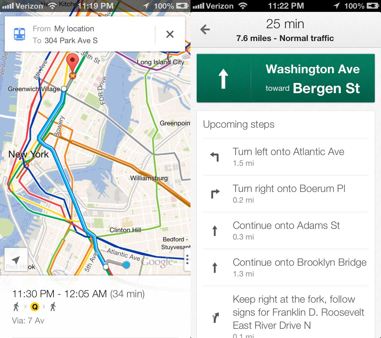 Google Maps for iOS Returns, Available for Download Now | Qarve on