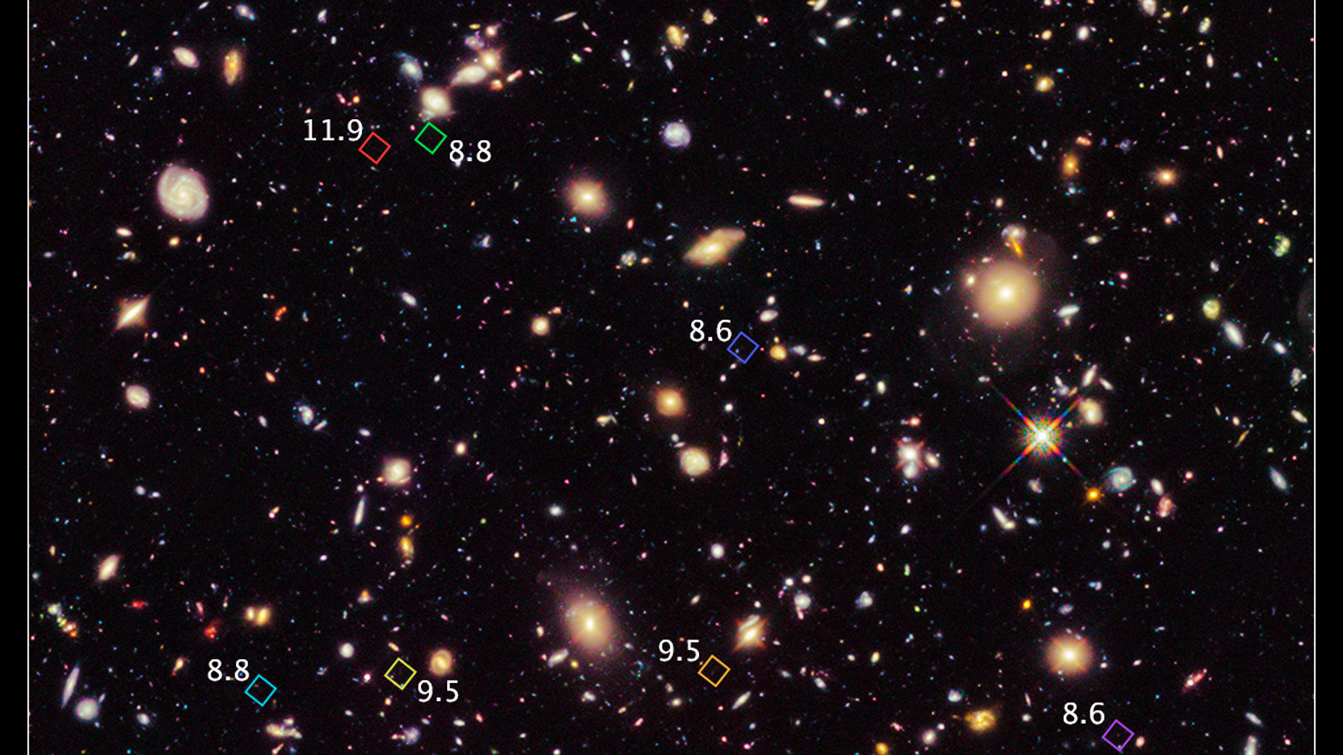 best photos of distant galaxies - photo #47