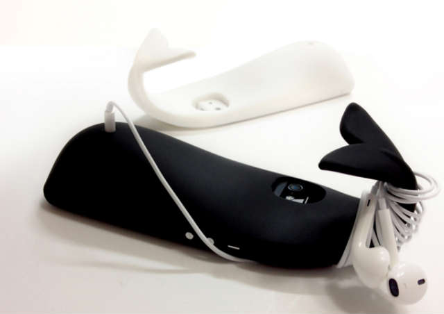 Whale Shaped iPhone Case Is Surprisingly Functional NYC Real Estate News image via Tigho iwhale