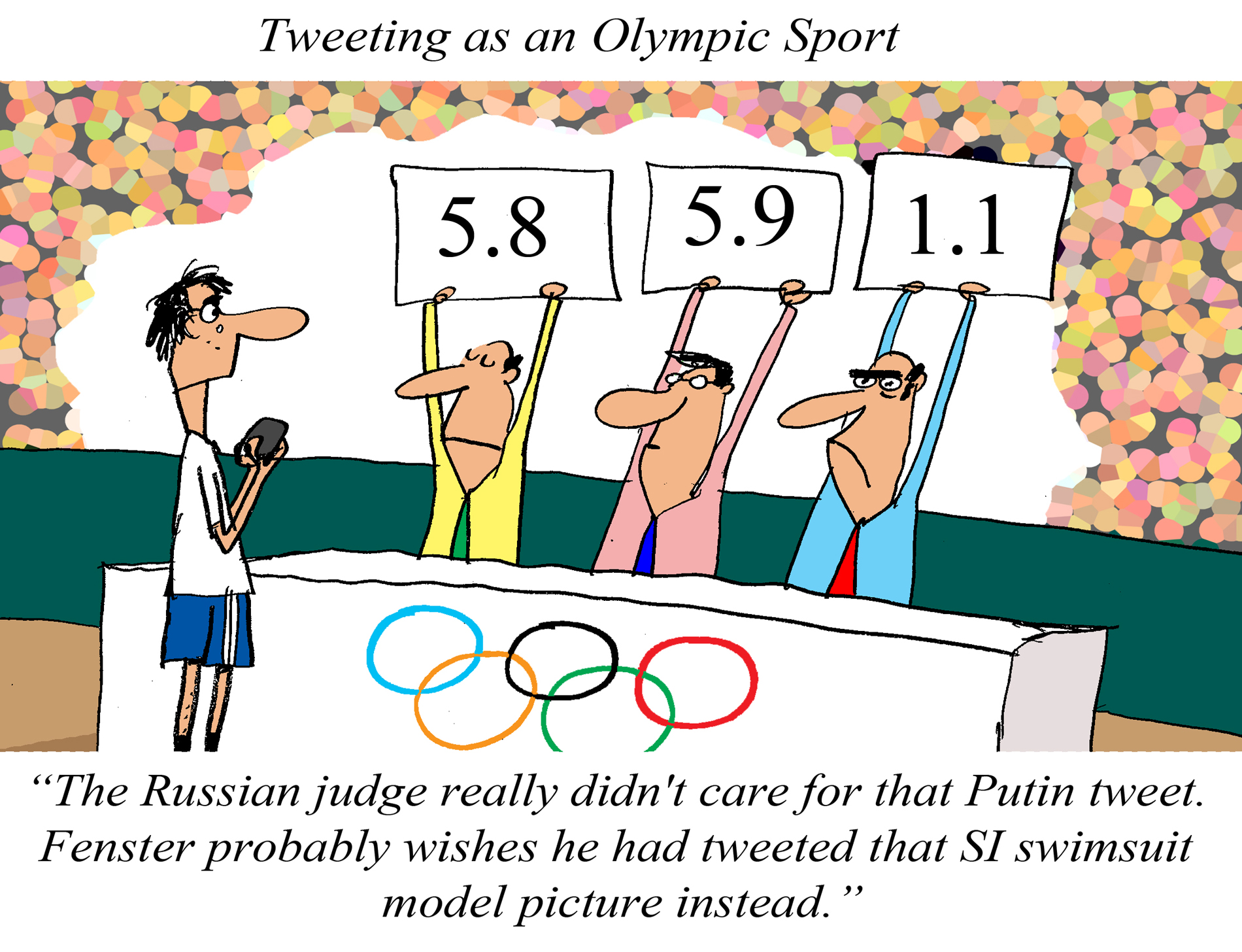Tweeting as an Olympic Sport, by Jerry King