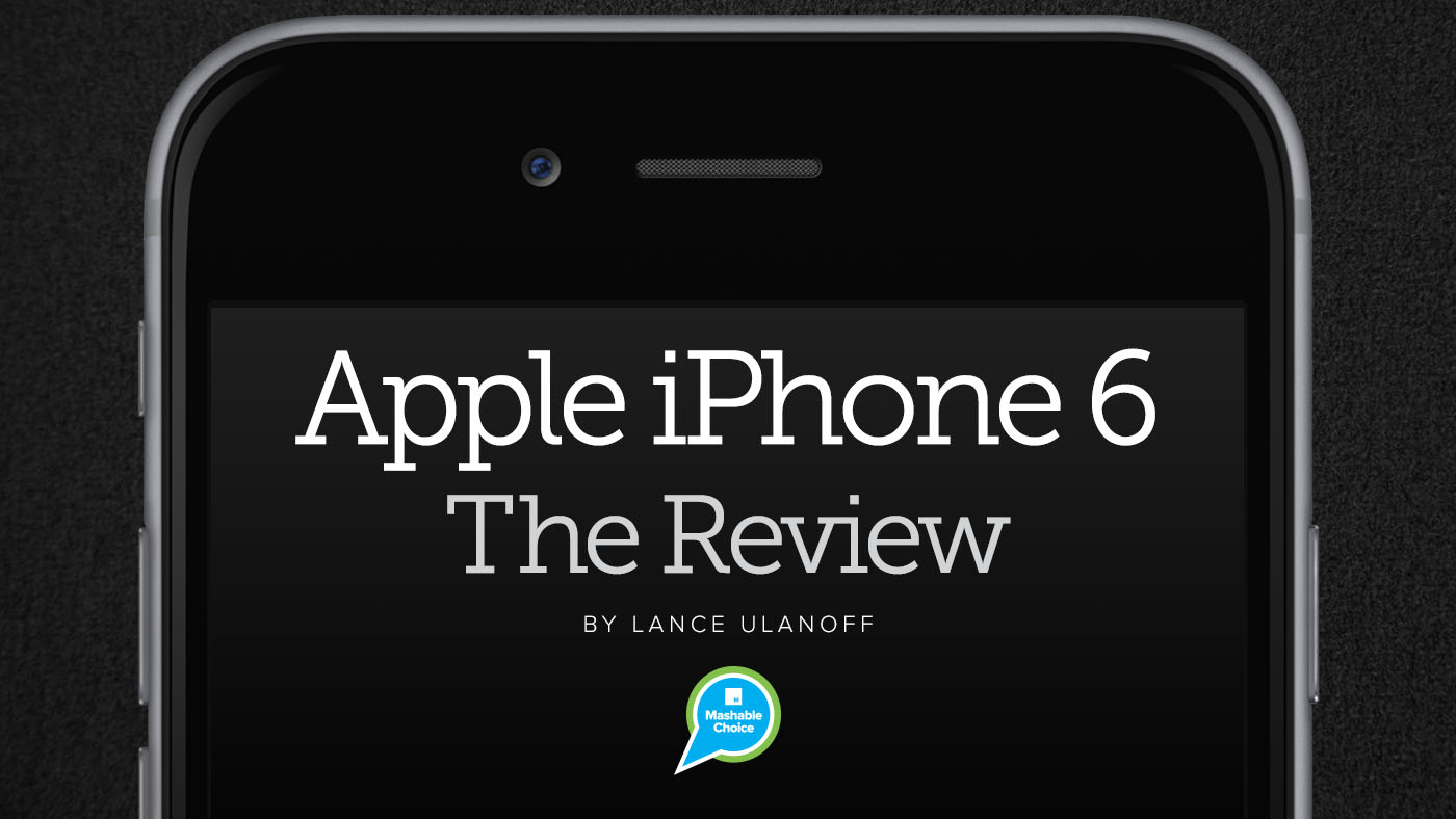 http://mashable.com/2014/09/16/apple-iphone-6-review/