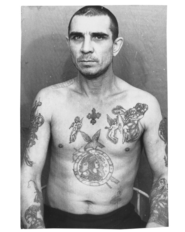 The Coded World Of Russian Prison Tattoos It means whatever it means to the person. mashable