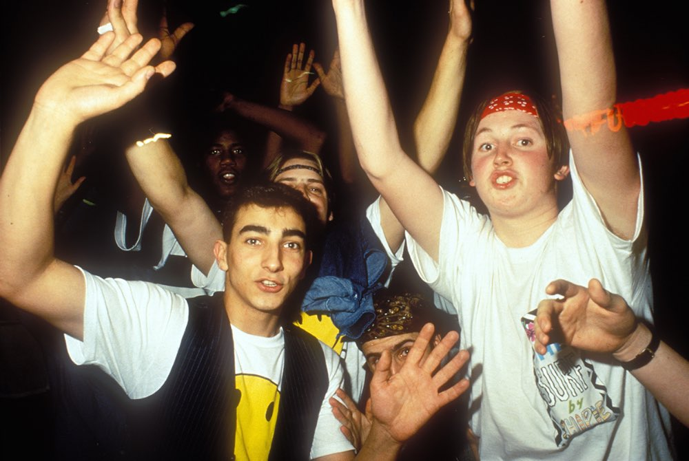 Raving to the sounds of acid through the early 39 90s for 1980s house music