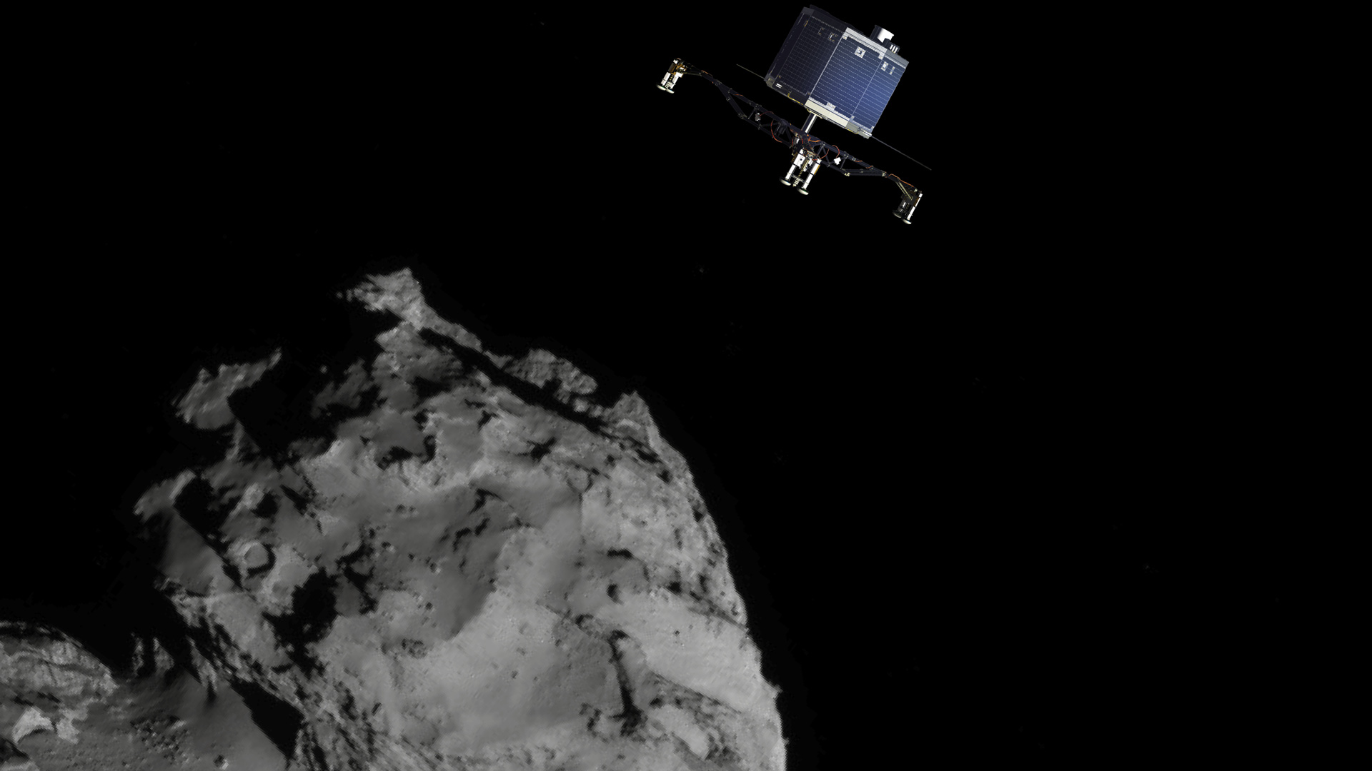 Rosetta's ultimate mission: Landing on a comet
