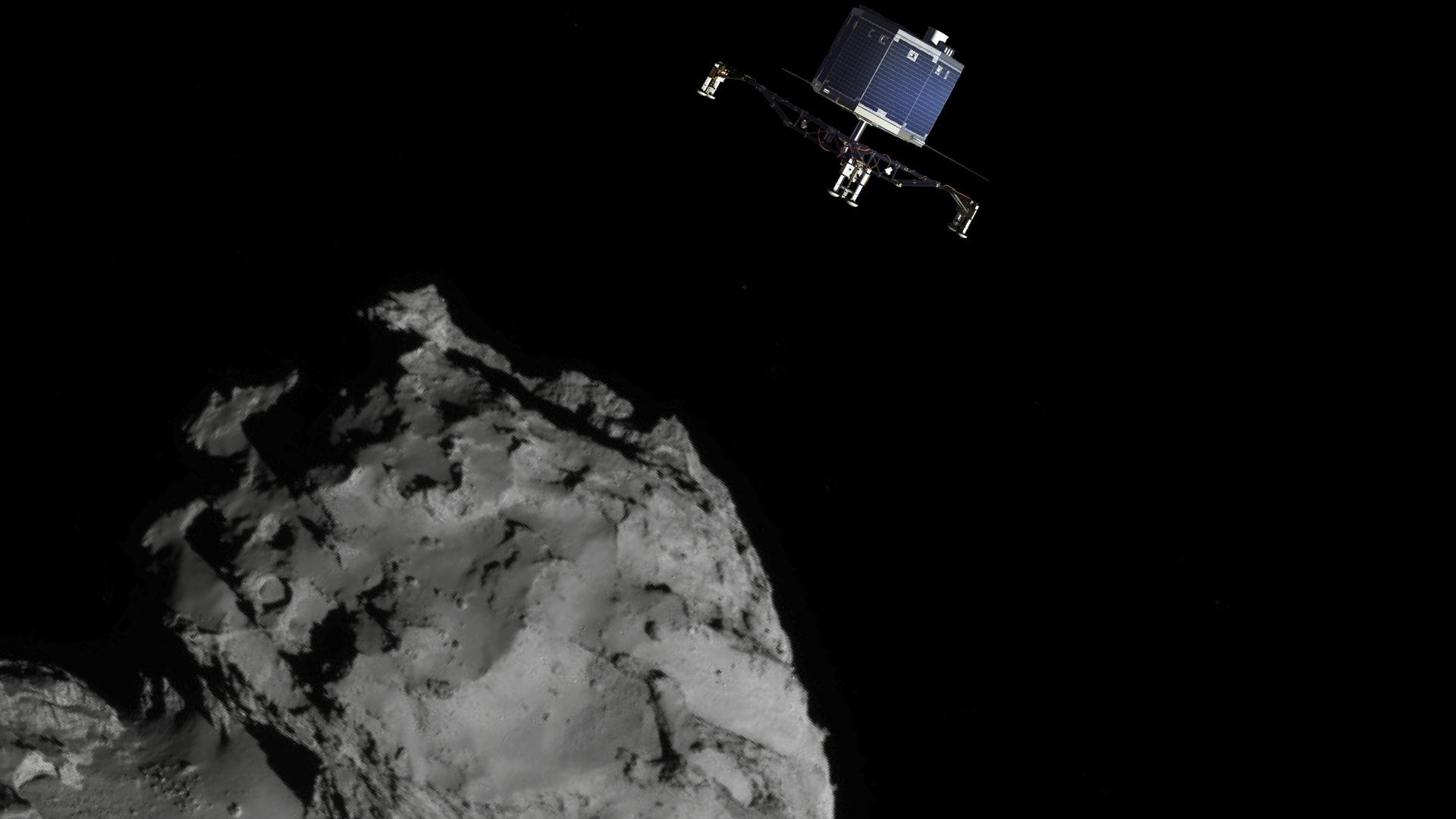 philae comet landing - photo #18