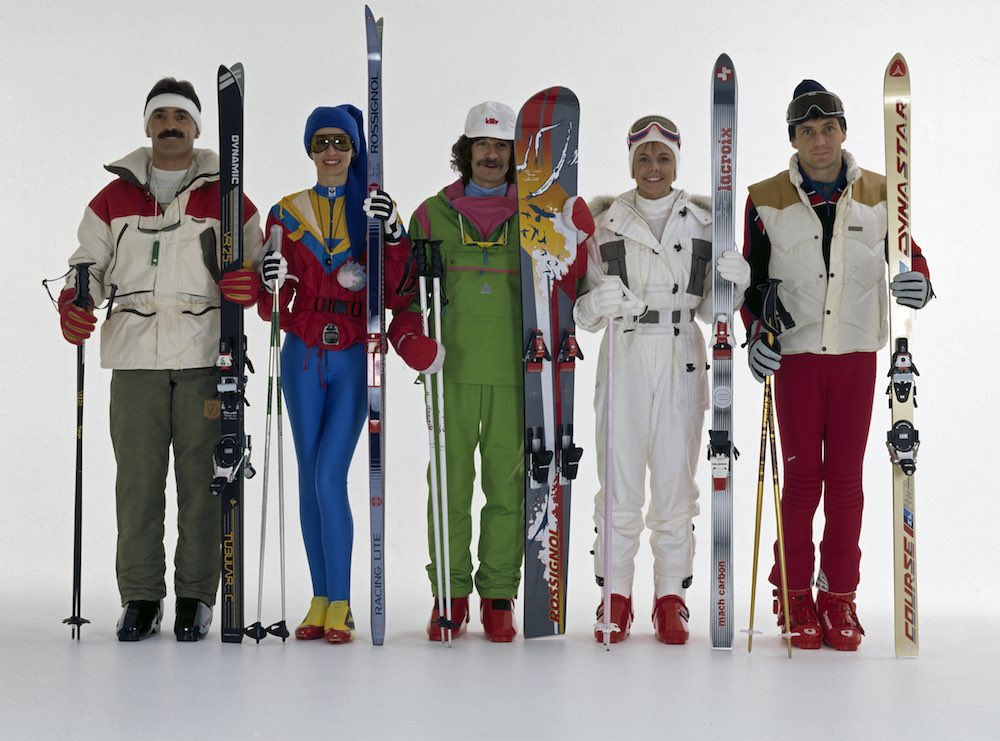 Extreme Eighties Ski Wear Luvbyrd