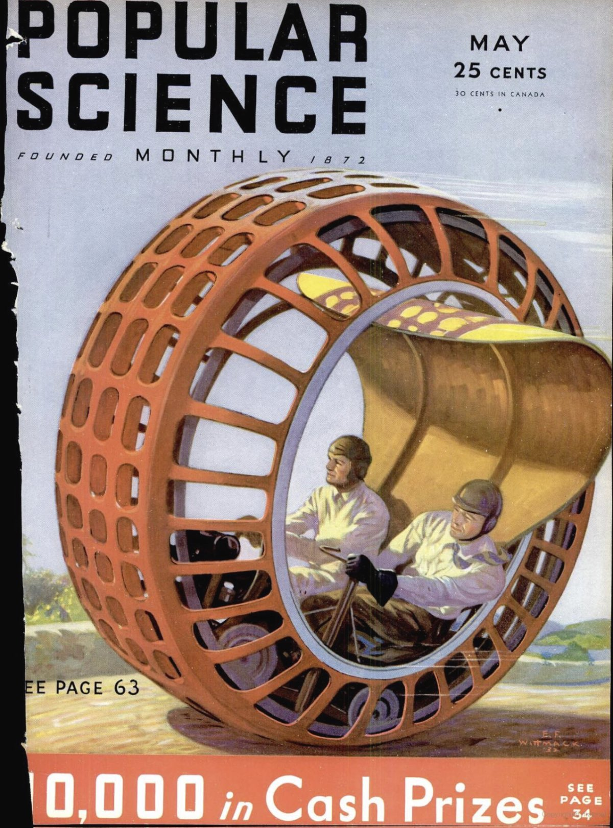 The monowheel was tech's improvement on bicycles. It didn ...