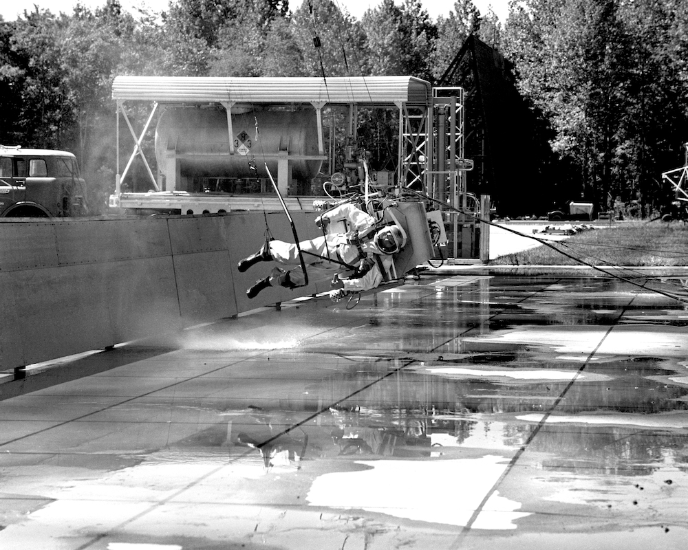 1960s moon landing training was rigorous and goofy-looking