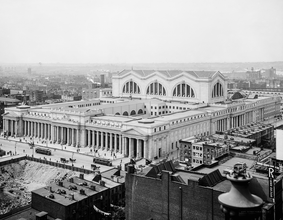 What Penn Station Used To Look Like Will Make You Weep