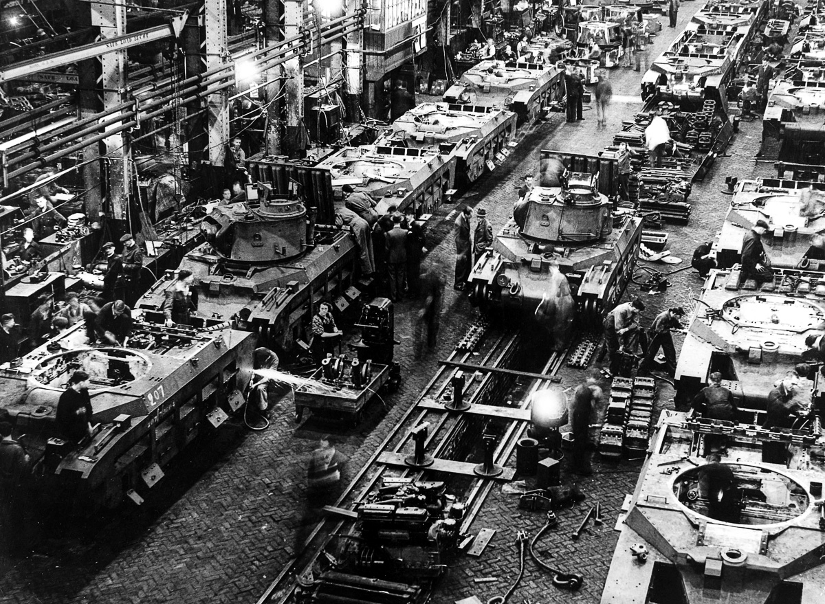 Mass Production For Mass Destruction The Tank Factories