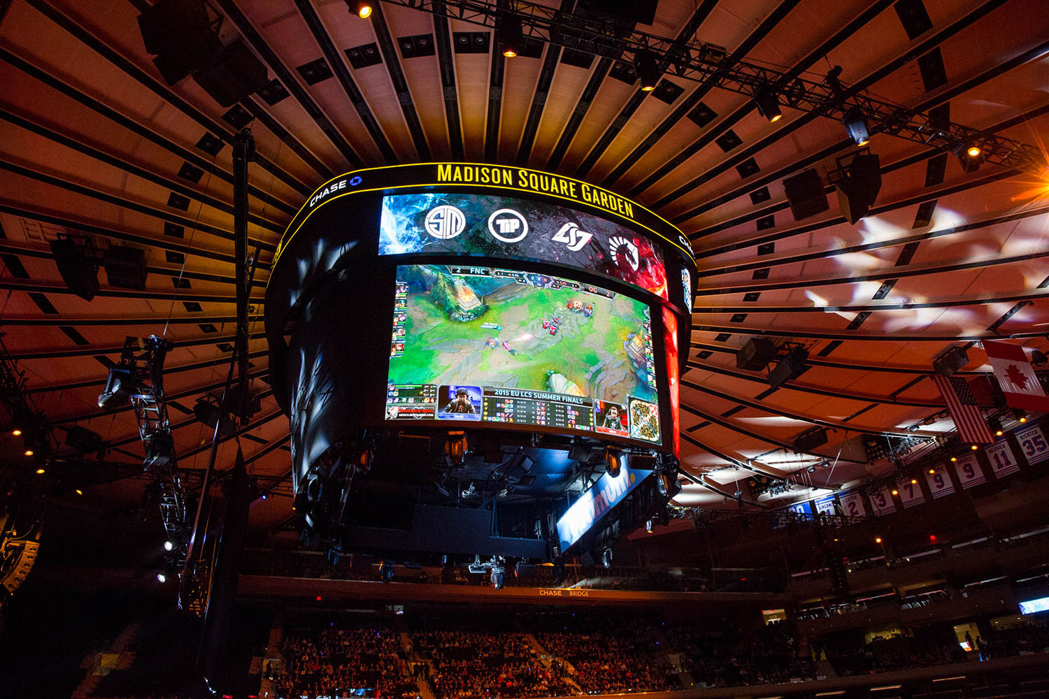 Esports Hit Nyc 39 S Big 39 League 39 Packing Madison Square Garden
