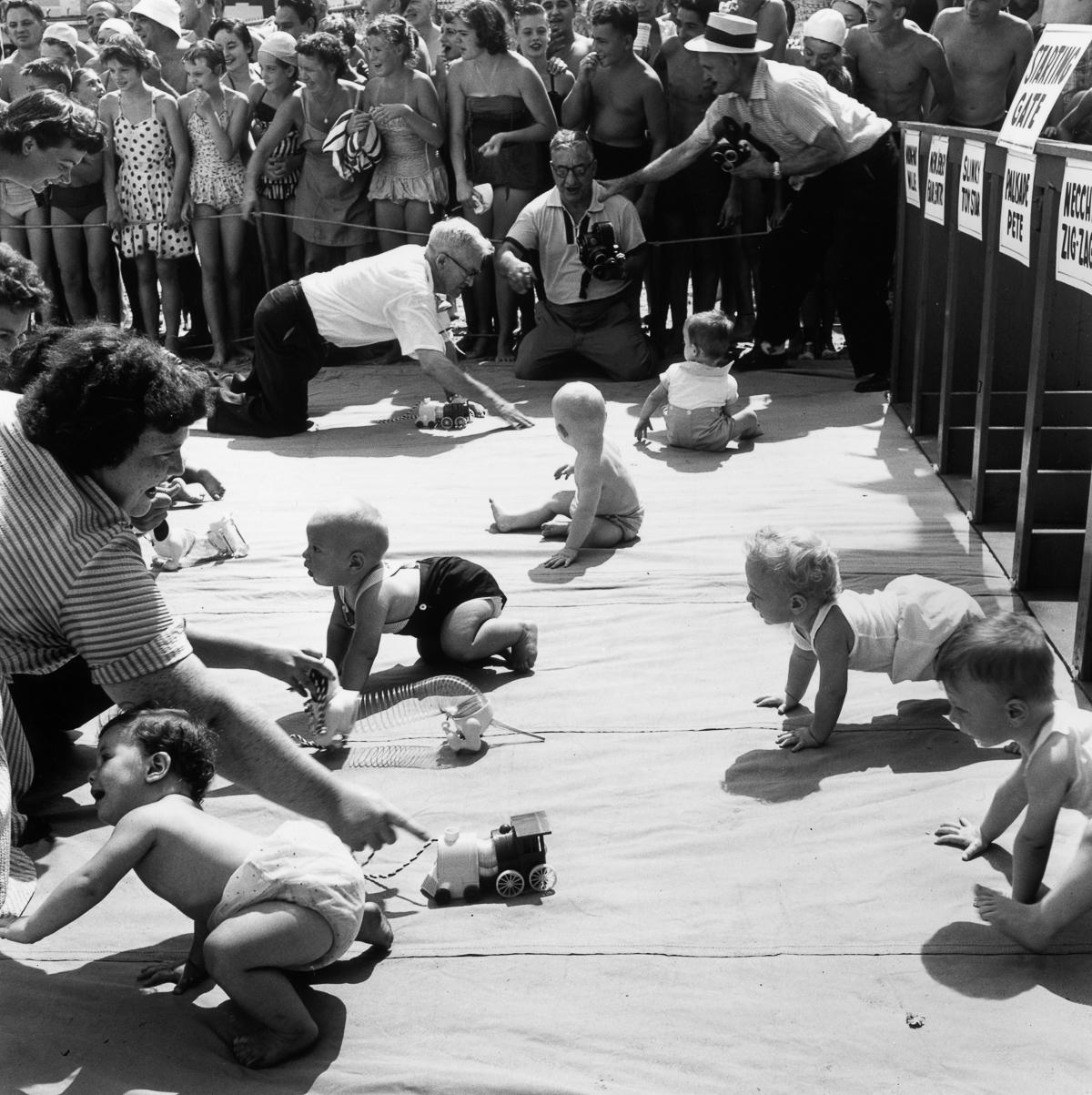 «Гонки карапузов» — самое странное спортивное состязание прошлого века
