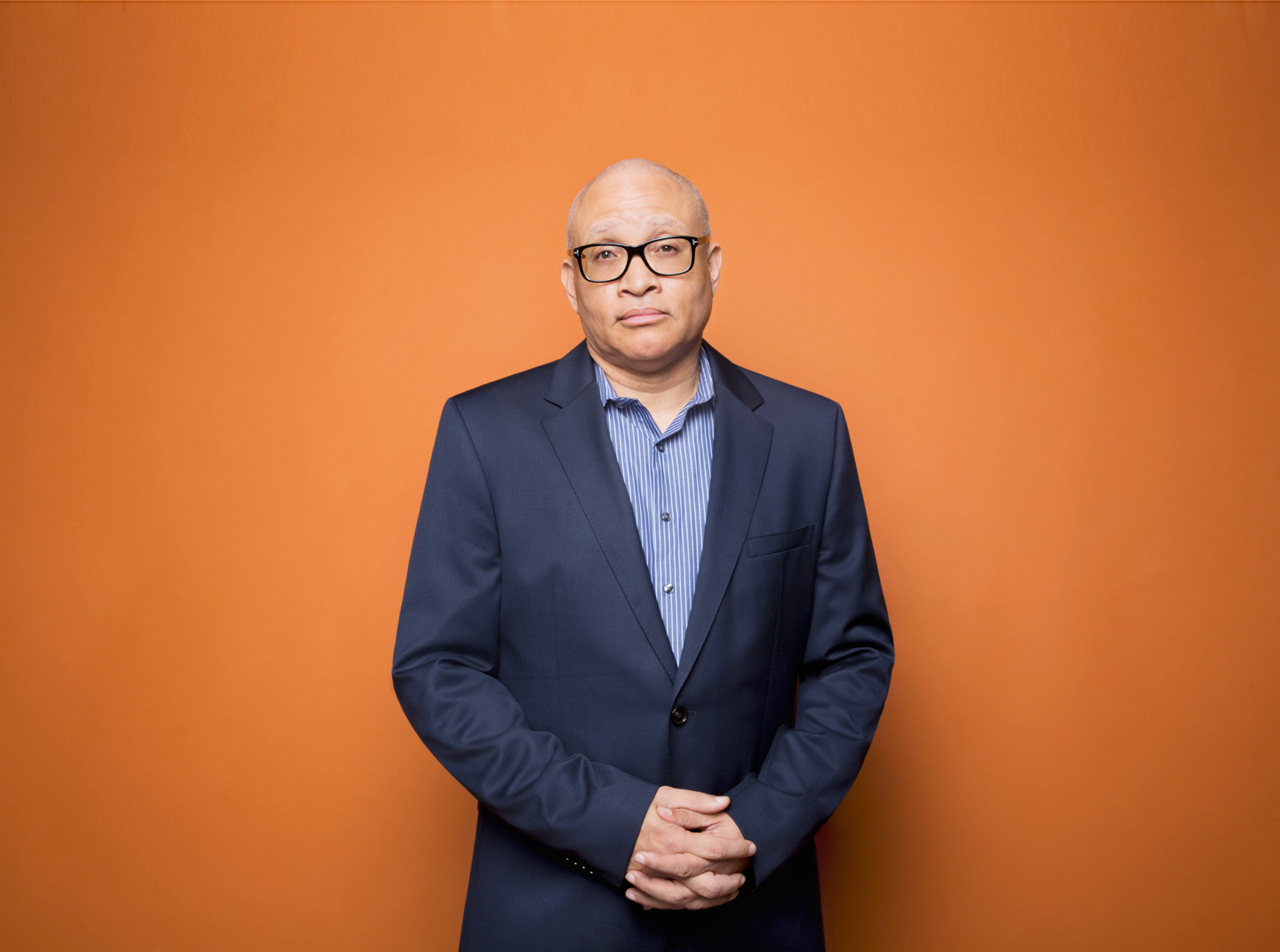 Interview With :    Larry Wilmore, Comedian, Writer, Producer and Political Commentator On Racism, politics and Donal