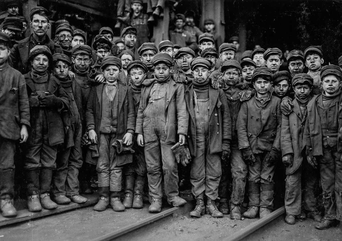These photos of young miners helped curb child labor in the U.S.