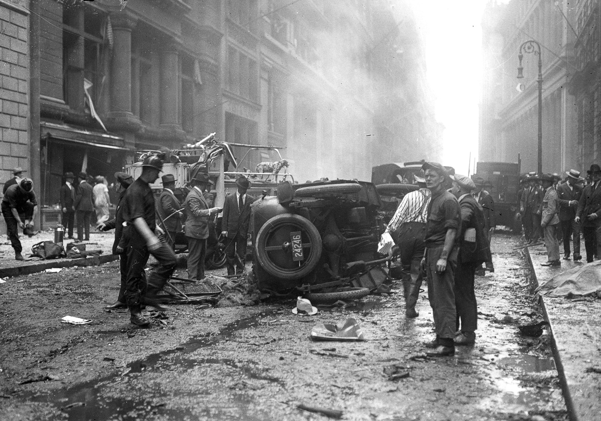 The 1920 Wall Street Bombing Was Never Solved