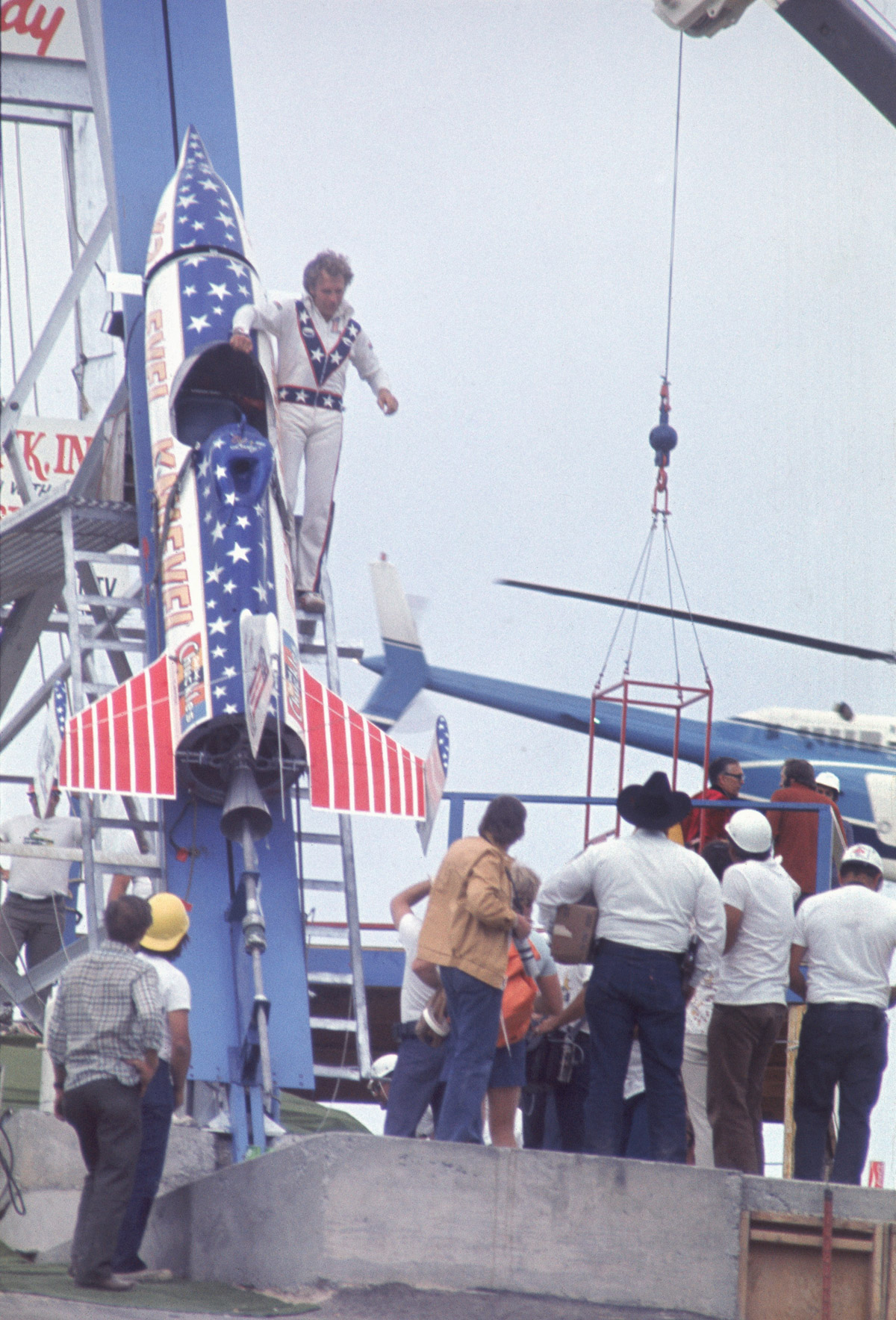 Evel Knievel U0026 39 S Most Famous Stunt Was Actually A Failure