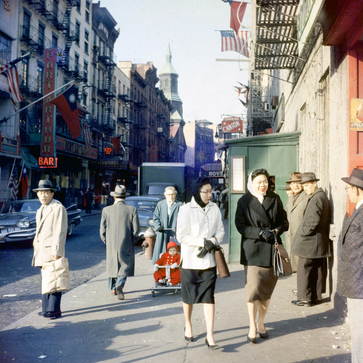 1960 New Yorkers Celebrate The Year Of The Rat In Chinatown