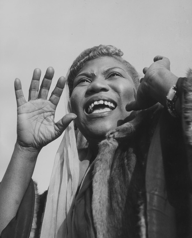 The gospel-singing, guitar-shredding woman who invented ... Rosetta Tharpe