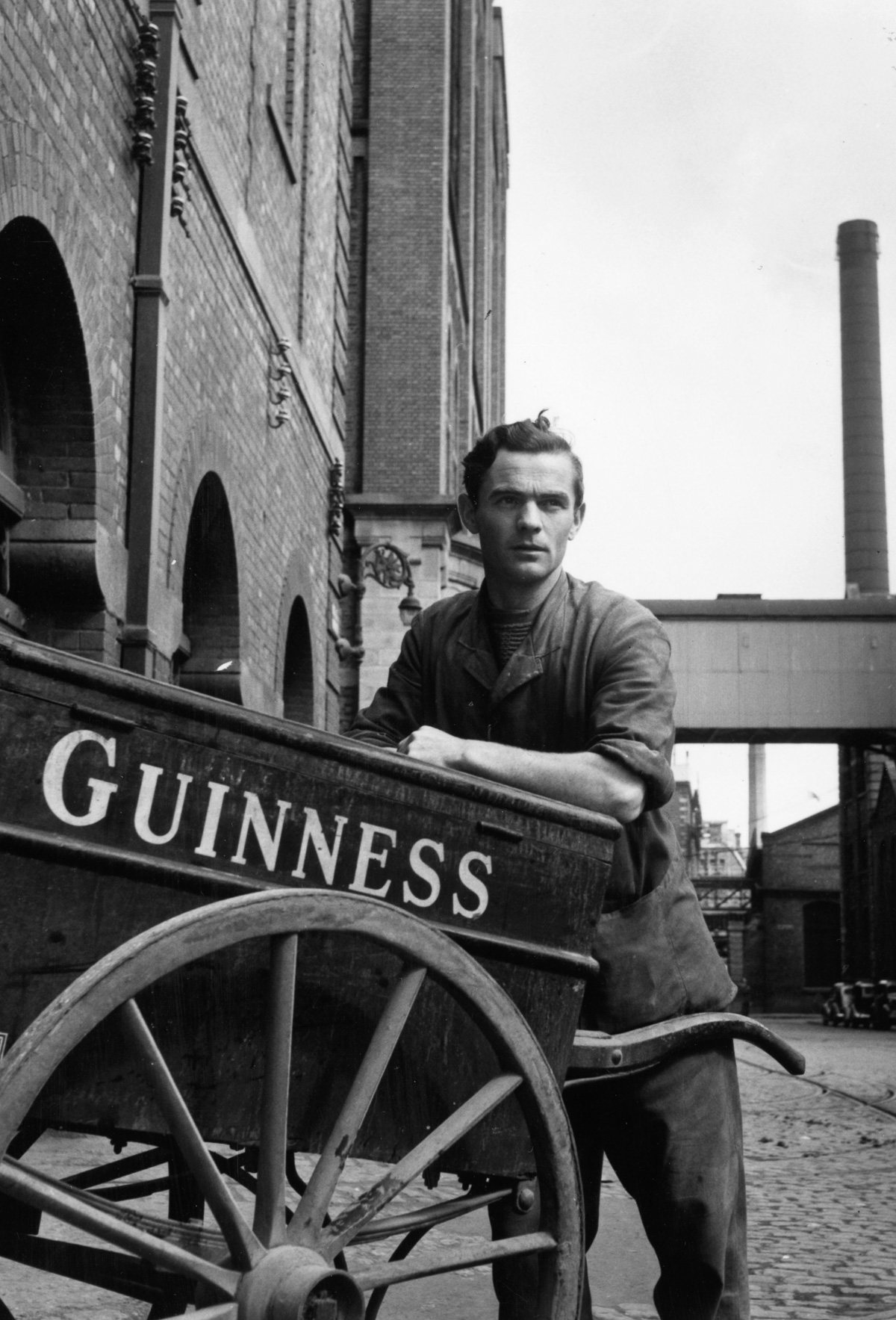 Mashable- 1953: Inside the Guinness brewery